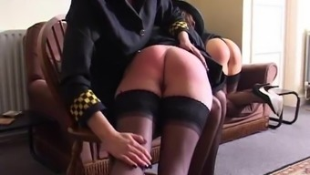 British Meter Maids Spanked