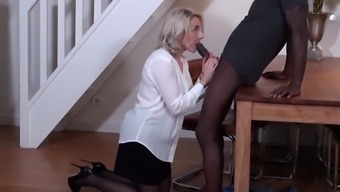 Mature Mom tries Black Cock fo the First Time