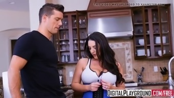 xxx porn video - in a pinch with angela white and ramon noma