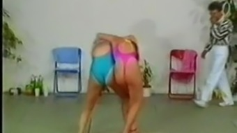 natural wedgie in catfight one piece