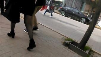 Bus Stop Black Pantyhose