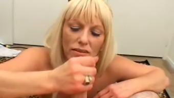 Sexy Lucy gives more than enough love by sucking her lover's dick like a pro
