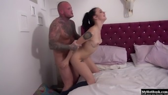 Alessa Savage loves waking up to her boyfriend crashed out on her bed.