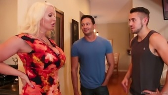 Some wild bisexual MMF threesome shit gonna happen with Alura Jenson