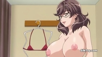 hot big boobs anime mother fucked by son
