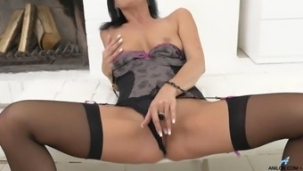 czech celine noiret toying her pussy
