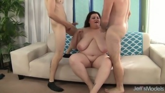 Some good double cock penetration gonna be great for BBW Stazi