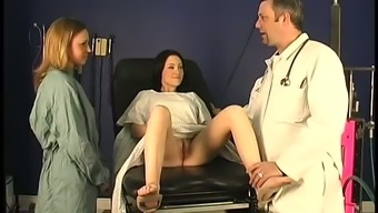 Spunky vixen Alexa loves medical checks ups and naughty doctors