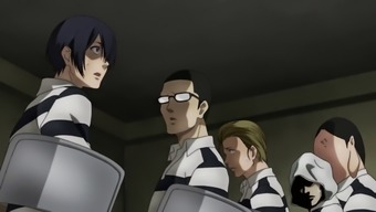 Prison school (kangoku gakuen) anime uncensored #10 (2015)