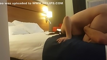 step son liking step mom pussy into hotel room