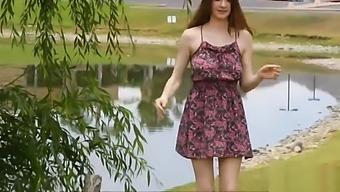 19yo teen in public