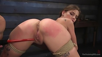 Crazy Sydney Cole enjoys hardcore fuck with a dude while she moans