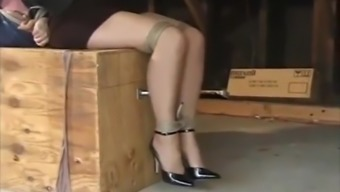 Abby tied