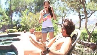 Victoria Rae Black has amazing fucking skills and likes summer hot days