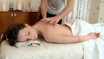 Massage chinese doggystyle Granny bigboobs