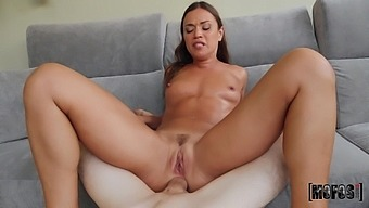Fresh and clean Alyssa Reece is ready for hard anal sex with a dude