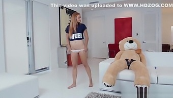 Horny stud gives Kadence Marie the real deal and goes hard pounding her wet pussy