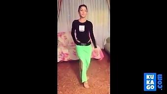 Non Nude Indian Desi Teen Girl Belly Dance Shaking Ass