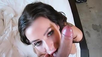 Angelic Adriana Lynn Blows Wang Ready for Sex