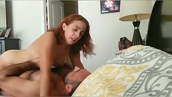 Pretty soccer mom daddy bear moaning orgasm compilation
