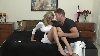 Jodi West Horny Blonde Mom Fucking By His StepSon