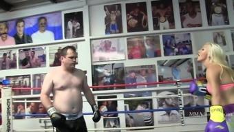 Cameron Dee Mixed Boxing Beatdown