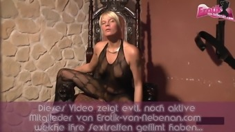 German mother in creampie gangbang sexparty with cum loads