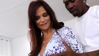 Busty Cougar Syren De Mer Wants Interracial DP