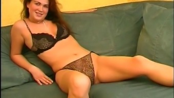 Slutty mature European women masturbate & dildo themselves on camera