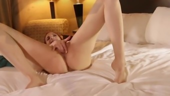 Stockings Fetish with Jayden Cole and her long legs!