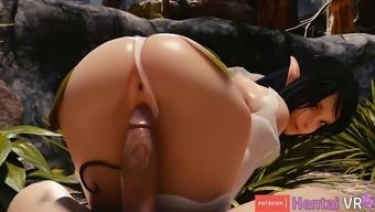 Alfiena booty ride