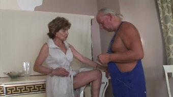 Katala & repairman anal granny mature hairy