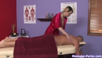 He has two beautiful babes to choose from for his erotic massage