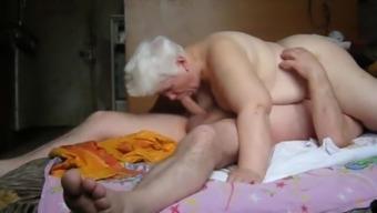 How it is done in Russia. Grandma Lida and Grandpa Vitya
