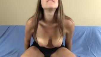 Giving YOU upskirt peeks and anal fingering JOI...