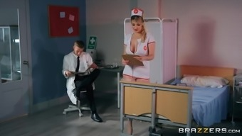 Slut Nurse Fucks Dr. Monster Cock