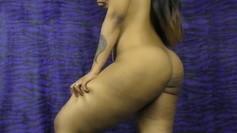 HornyLily strips, dances and spreads her pussy for you