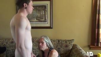 son suffers a unique punishment from mom