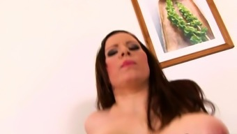 Carol Wings Takes Black Cock in Her Ass