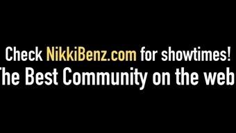 Mayoral Candidate Nikki Benz Puts Dildo Inside Tasha Reign!
