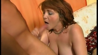 This granny is crazy about cocks and always wants to get drilled!