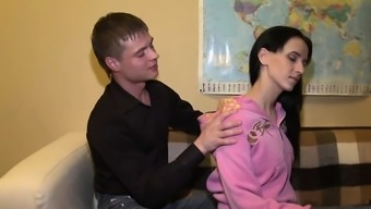 Breathtaking young russian Paige finds a big slim jim