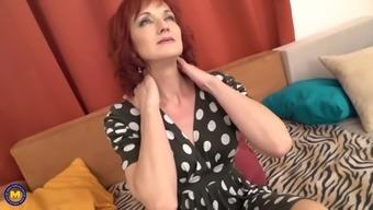 Horny mother irena fucks lucky son