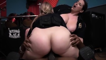 Deep blowjob Raw video grips officer pulverizing a