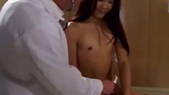 XXX porno olej masáž