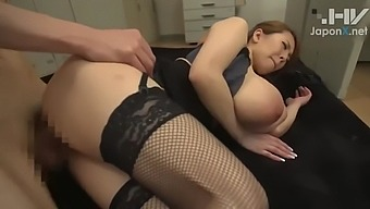 Hitomi seduces the office junior