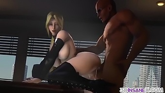 3d animation sex scenes with heroes from games