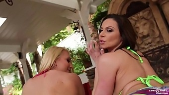 Kendra and AJ Applegate lovingly share cock up the ass in this intense anal scene!