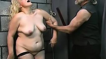 Bare doll fetish bondage sex scenes with elderly man