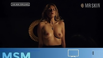 Busty celebrity Alice Eve is breathtaking and her tits are flawless